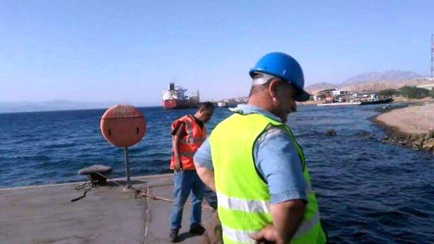 ירדן: דליפת הנפט בגלל כשל בייצור