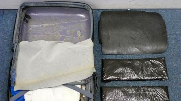 תושב אילת ניסה להבריח קוקאין מגרמניה