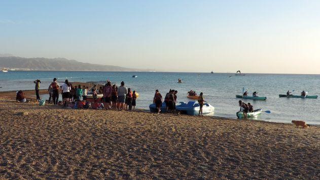 מסוכן ובניגוד לחוק: פעילותספורט ימי במפרץ השמש
