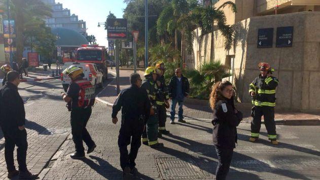 ששה פצועים קל במלון 'לגונה'