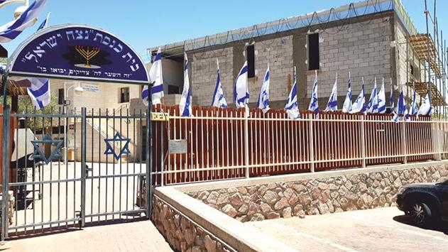תאונת עבודה הביאה לעצירת  העבודות בבית הכנסת 'נצח ישראל'