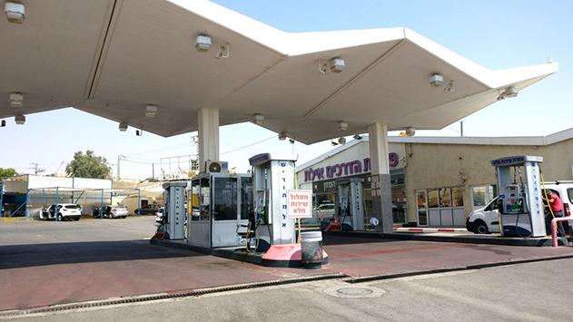 כויילו משאבות הדלק בתחנת 'ברשף'