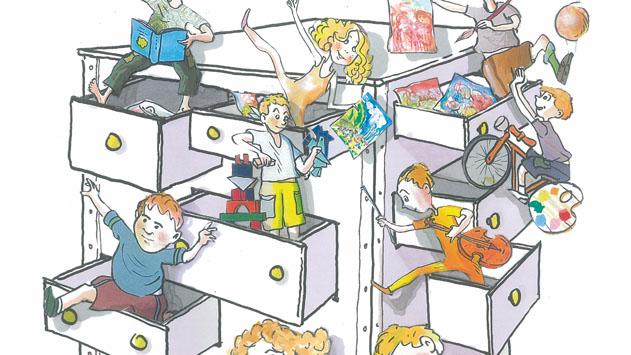 ספר ילדים חדש: 'המגרות של סבא' מאת שמואל צור
