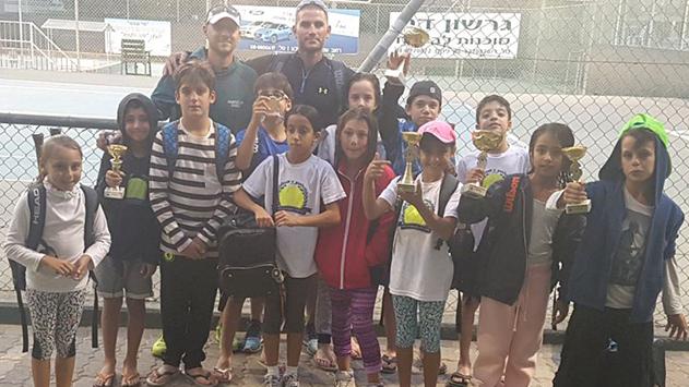 האקדמיה לטניס על המפה
