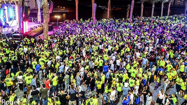 אלפי אילתים רצו ברחובות