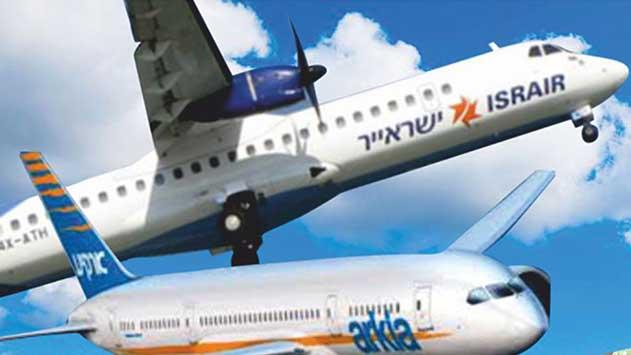 האם צמצמו ארקיע וישראייר את מספר הטיסות לאילת לטובת טיסות לחו''ל?