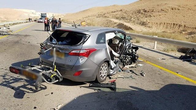 איש הברזל נהרג בתאונה קטלנית בעת שחזר מתחרות באילת