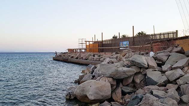 לשכת התכנון המרכזית סירבה  להצבת גדר בין חוף הדקל  לחוף משאבות החשמל