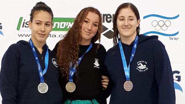 הישגים מצויינים לאילתים  באליפות ישראל בשחייה