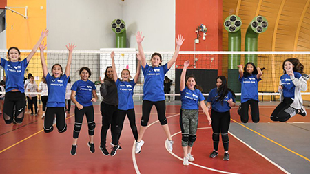 תלמידות 'גלים' אלופות אילת בכדורשת