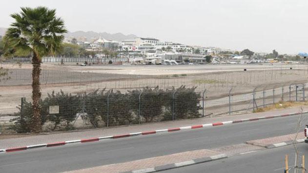 נמל התעופה המתפנה באילת יהפוך למספר חודשים לשדה חיפוש גז טבעי