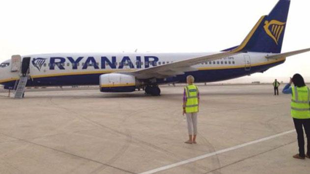 מזל טוב: טיסת הלואו קוסט הראשונה ברמון תהיה של חברת ריינאייר