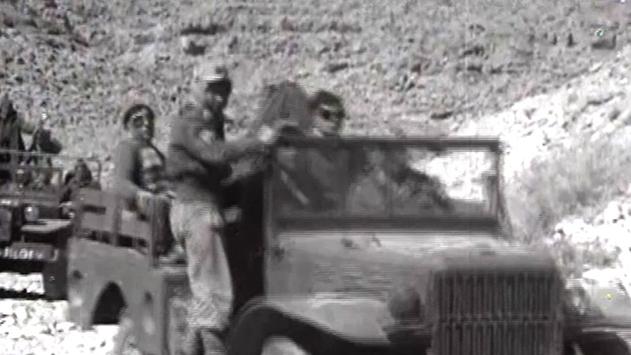 שוחררו קטעי וידאו נדירים  משחרור אילת ב-1949
