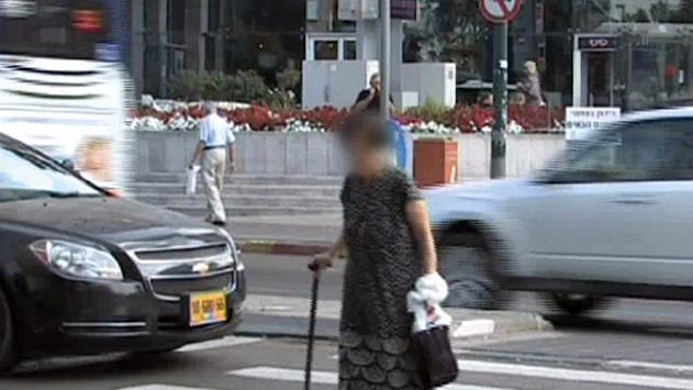 25 קשישים נפגעו בתאונות דרכים באילת בעשור האחרון