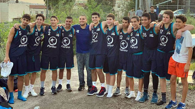 אליפות שלישית למחלקת  הנוער בכדורסל