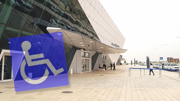''צריך כסא גלגלים? תציג דרכון'' אמרה הפקידה לנוסע המעוצבן