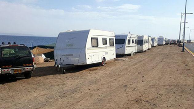 הסתיים פינוי הקראוונים בחוף הדרומי