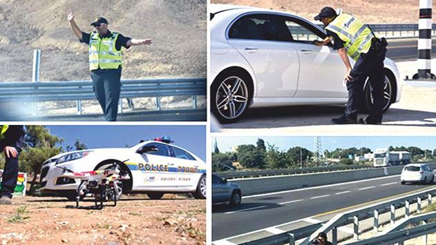 מה הוביל לירידה באכיפת עבירת נהיגה תחת שכרות וסמים באילת?