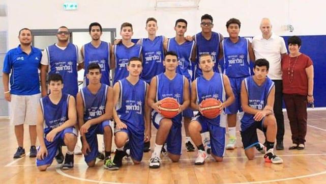 נבחרת הכדורסל של גולדווטר העפילה לגמר המחוזי באשדוד