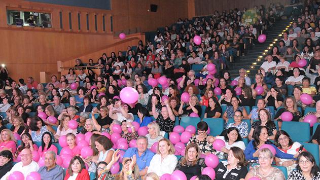 השתתפות שיא בכנס המודעות לגילוי סרטן השד באילת