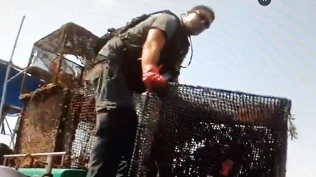 מבצע שני להוצאת מלכודות נטושות ממפרץ אילת