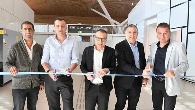 נחנך מתחם המכס בשדה התעופה החדש