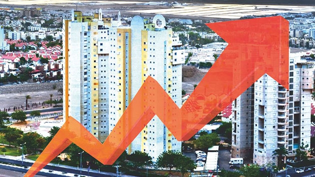 מחירי הדירות באילת זינקו ב-53% בעשור האחרון