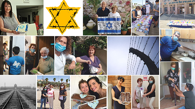 מיזם ההתנדבות של 'רבין' ליום השואה כבש את אילת כולה