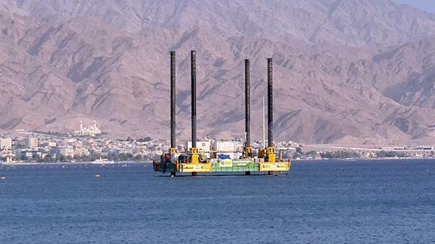 הגופים הירוקים מאשרים: אסדת  הקידוח זמנית ואינה פוגעת במפרץ