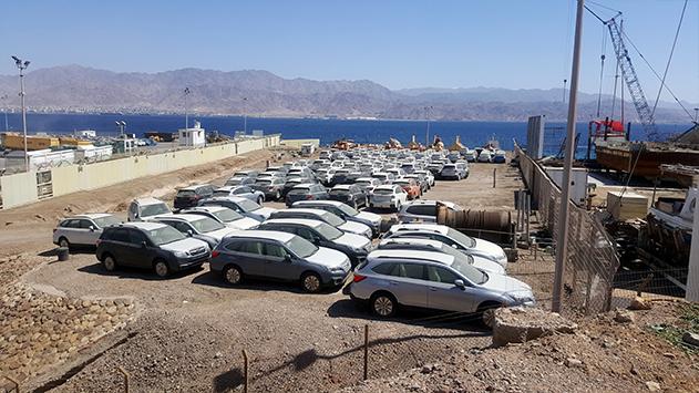 נשיא לשכת הספנות קורא להחריג  את נמל אילת מחוק אחסון הרכבים