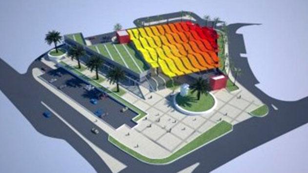 מרכז מסחרי חדש ייבנה  על שדרות התמרים