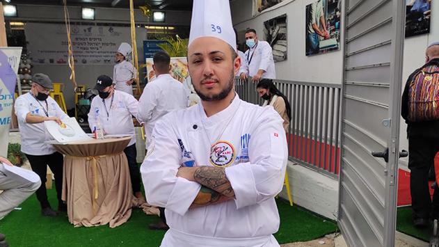 השף שזכה באליפות השפים הארצית: ''כשהייתי שפית המלחמה  במטבח הייתה יותר קשה''