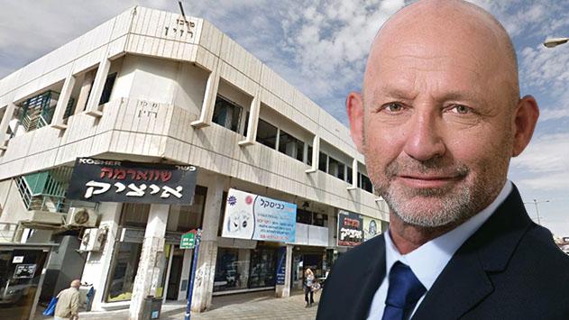 דובי כהן רכש את הקומה השנייה  במרכז רזין שהפכה למלונית