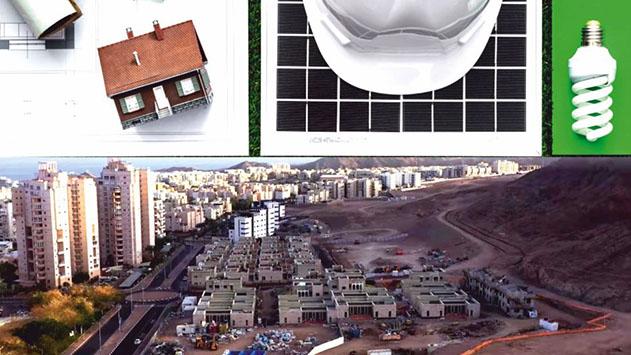 רק 3.7% מהפרויקטים הנדלנ''ים  באילת ייבנו בתקן בניה ירוקה