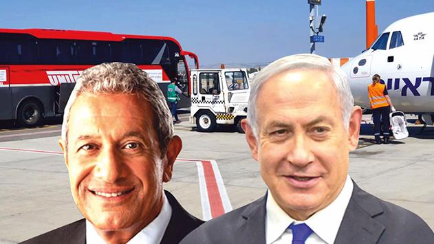 פעילות האוטובוס האדום  בנתב''ג הופסקה במפתיע?  תלוי את מי שואלים