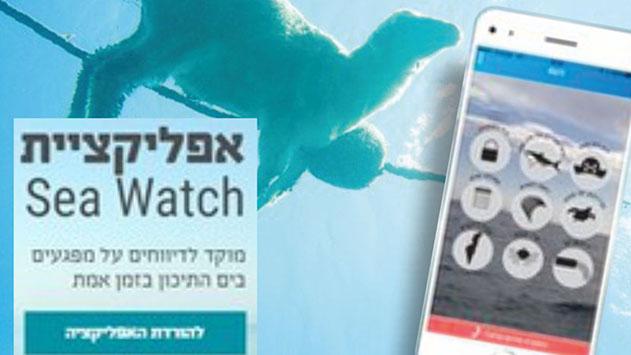 האפליקציה שהופכת גם  אתכם לשוטרים למען הים