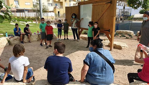 בי''ס צאלים – הראשון  להשתתף בתכנית ''מגן חינוך''