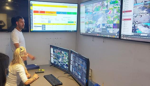 אילת מתקדמת עם מערכת חכמה  המזהה התנהגויות חריגות דרך  המצלמות העירוניות