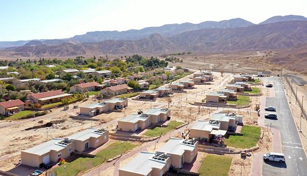 הושלם מיזם הקמתן של 120 יחידות דיור חדשות בקיבוצי חבל אילות