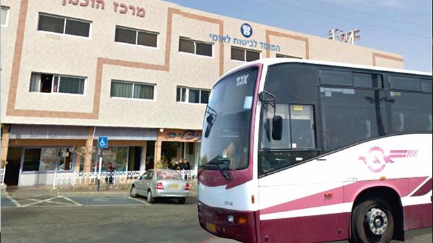 נהג אוטובוס בקו לאילת שסובל  מפקקת ורידים לא יוכר כנפגע עבודה