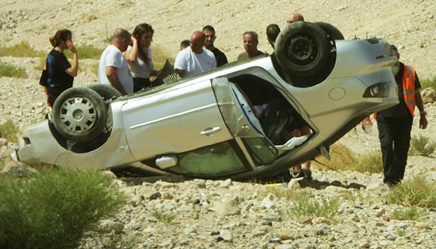 באופן מפתיע – חודש אוגוסט באילת  הוא החודש עם הכי פחות תאונות דרכים