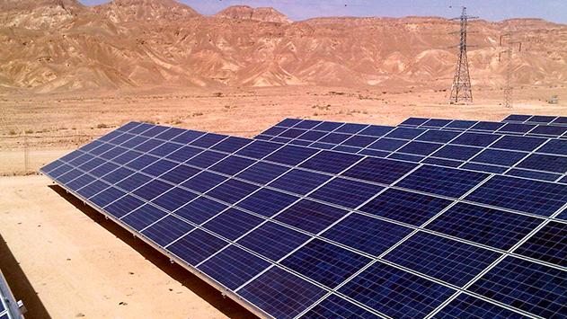 מפעל ראשון לייצור פאנלים סולאריים יוקם באילת