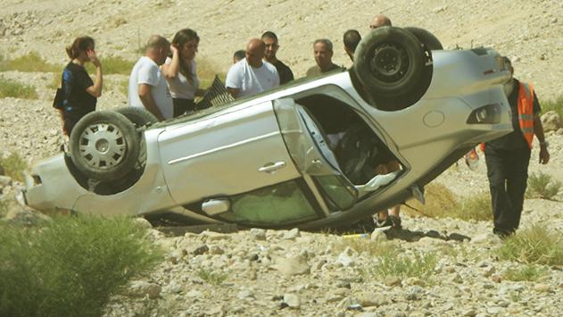 ירידה במספר הנפגעים בתאונות  דרכים באילת מתחילת השנה