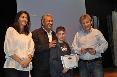 תעודות לילדי תחרות 'אפסון הים האדום'