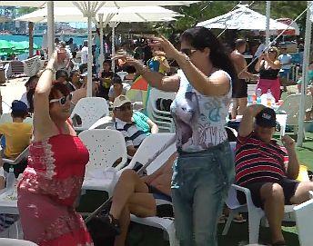 מאות מתושבי העיר בחגיגת המימונה העירונית