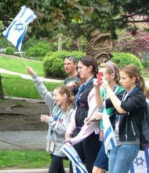 יהודי טורונטו צעדו למען אילת