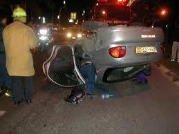 הרוגה בתאונה ליד כיכר שחמון