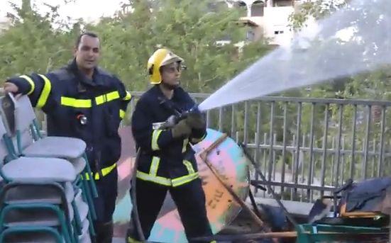 הצתה בבי''ס 'הרי אילת' - אין נפגעים