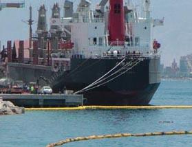 חשד: אנשי צוות טורקים אשמים בזיהום המפרץ