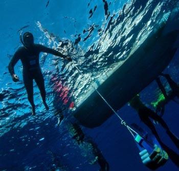שיא ישראלי בצלילה חופשית ל-100 מטר